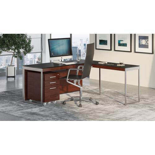 BDI Furniture - Sequel 20 6112 Return in Chocolate Walnut Satin Nickel