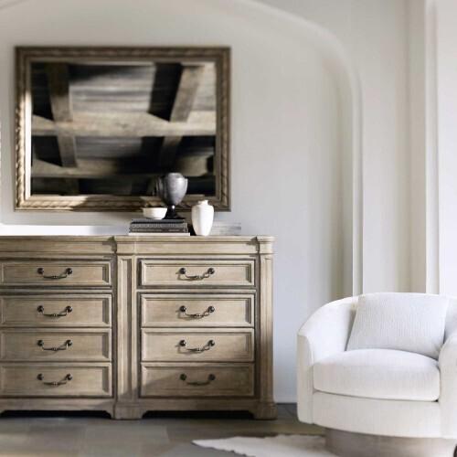 Bernhardt - Villa Toscana Mirror in Criollo (302)
