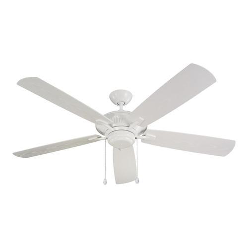"""60"""" Cyclone Outdoor Fan - White"""