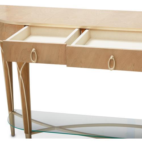 Villa Cherie Console Table Caramel