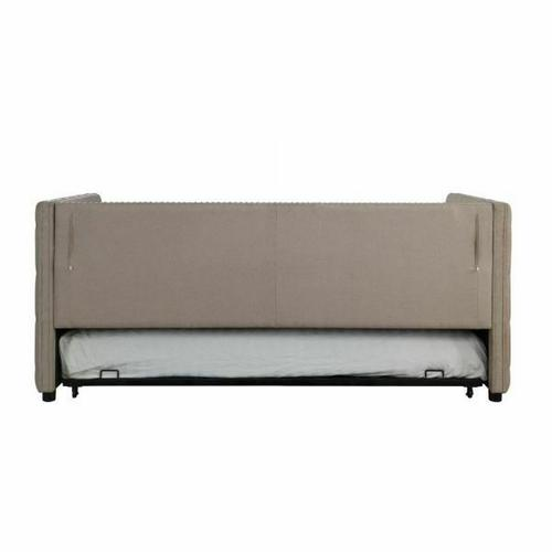 ACME Romona Daybed & Trundle - 39050 - Beige Linen