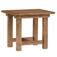 End Table - Heritage Pine Finish