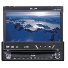 """AM/FM/CD/DVD 1DIN In-Dash Fully Motorized 7"""" Touch Screen LCD"""