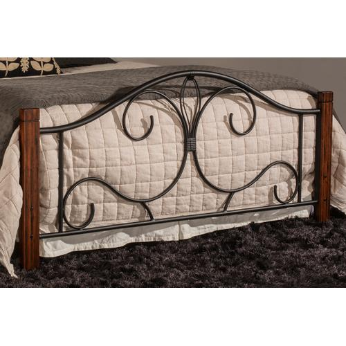 Destin Full Bed With Frame - Brushed Cherry