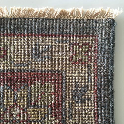 Charise-Peshawar Slate Ruby Hand Knotted Rugs (Custom)