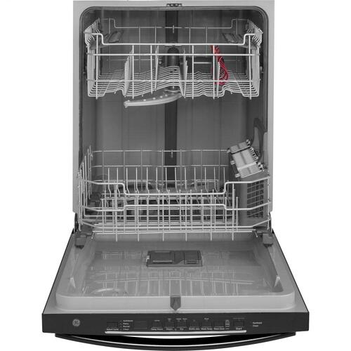Gallery - GE® Top Control with Plastic Interior Dishwasher with Sanitize Cycle & Dry Boost