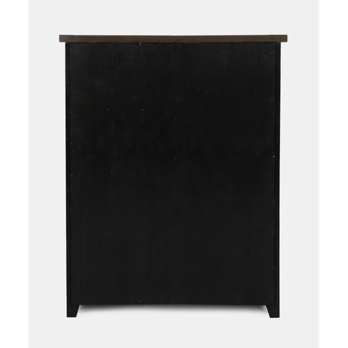 Madison County Door Chest - Vintage Black