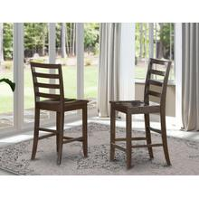 Fairwinds Stool Wood Seat with lader back