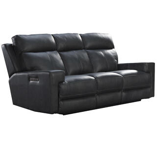 Solana Triple Power Sofa  Space Gray