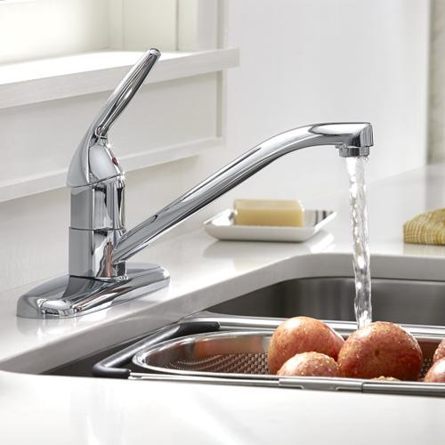 American Standard - Colony Choice 1-Handle Kitchen Faucet  American Standard - Polished Chrome