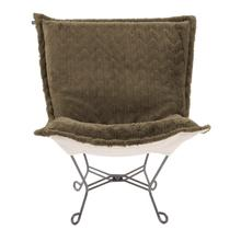 View Product - Scroll Puff Chair Angora Moss