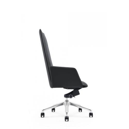 VIG Furniture - Modrest Tricia - Modern Black High Back Executive Office Chair