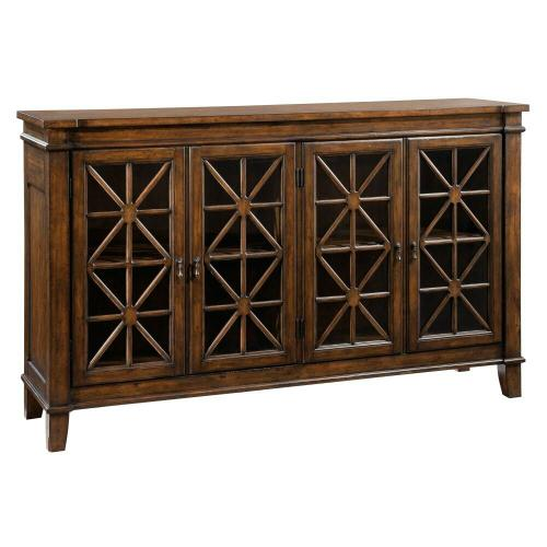 2-7301 Traditional Entertainment Console