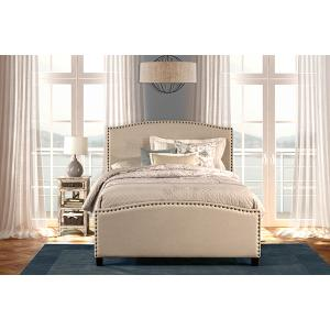 Hillsdale Furniture - Kerstein Bed Set - Twin - Rails Included - Lt Taupe