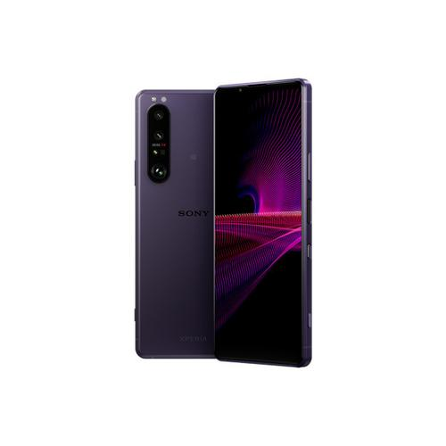 """Sony - Xperia 1 III - 5G smartphone with 120Hz 6.5"""" 21:9 4K HDR OLED Display and triple camera array with four optical focal lengths - Violet"""