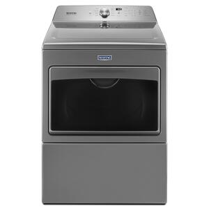 Large Capacity Gas Dryer with IntelliDry® Sensor - 7.4 cu. ft. Metallic Slate - METALLIC SLATE