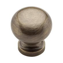 View Product - Satin Brass and Black Classic Knob