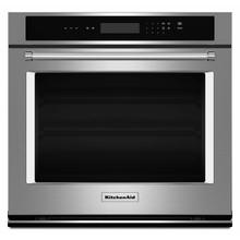 """See Details - 27"""" Single Wall Oven with Even-Heat™ Thermal Bake/Broil - Stainless Steel"""
