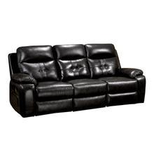 See Details - Power Recliner Sofa - Black