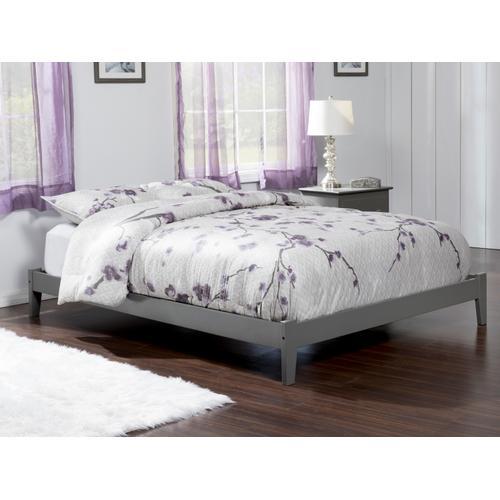 Concord Queen Bed in Atlantic Grey