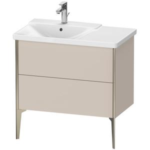 Vanity Unit Floorstanding, Taupe Matte (decor)