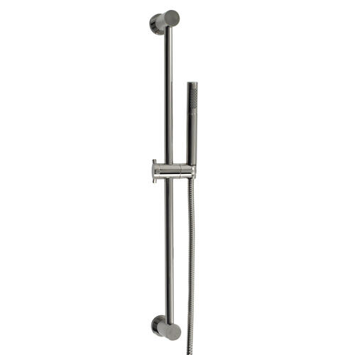 Hand Shower Set With Slide Bar in Satin K Gold