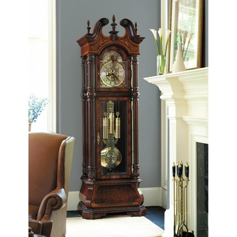 See Details - Howard Miller The J. H. Miller Grandfather Clock 611030