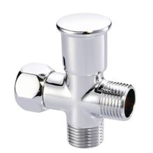 Chrome Push-Pull Showerarm Diverter
