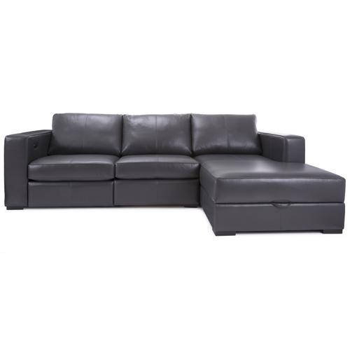 3986 RHF Chaise with Storage