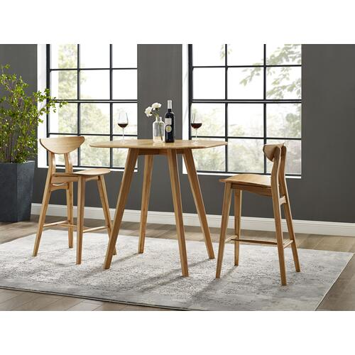 Product Image - Cosmos Counter Height Stool, Caramelized, (Set of 2)