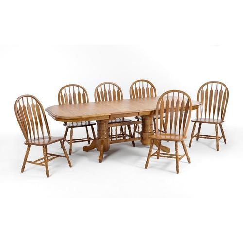 Product Image - Classic Oak Chestnut Arrow Chair