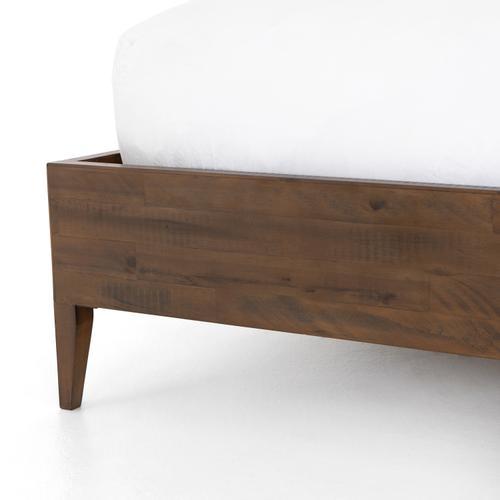 Sibley King Bed-heritage Brown