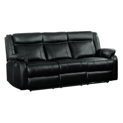 See Details - Double Reclining Sofa with Center Drop-Down Cup Holders