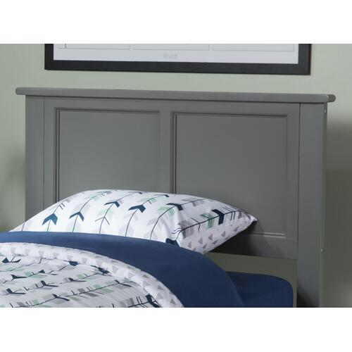 Madison Headboard Twin Atlantic Grey