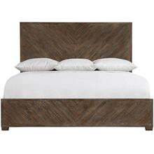 Queen Fuller Panel Bed in Sable Brown