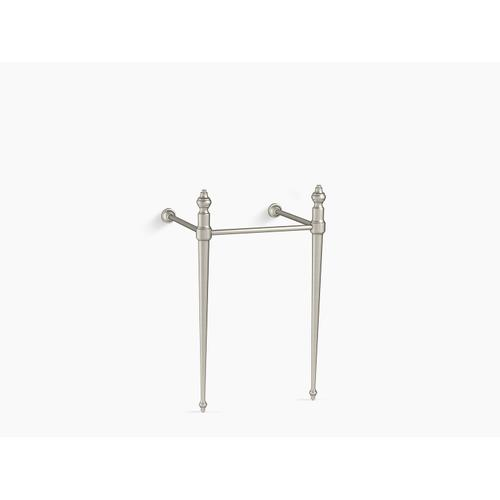 Vibrant Brushed Nickel Console Table Legs for K-29999 Memoirs Sink
