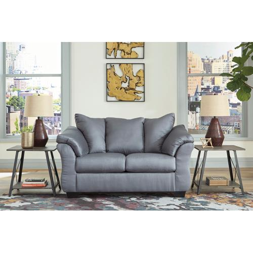 Darcy Loveseat Steel
