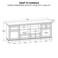 TS83F Custom TV Console