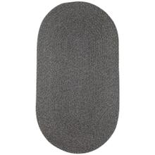 "Heathered Grey - Oval - 8"" x 28"""