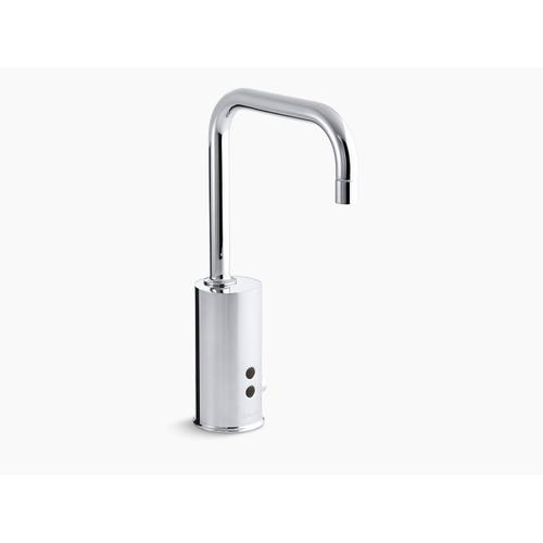 Vibrant Stainless Touchless Faucet With Insight Technology and Temperature Mixer, Dc-powered