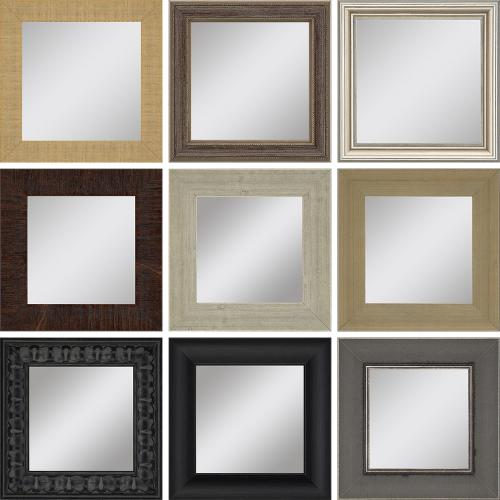 Mirrors Assorted 6x6 S/9