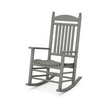 View Product - Jefferson Rocking Chair in Slate Grey