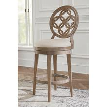 Savona Bar Stool With Circle Back Design
