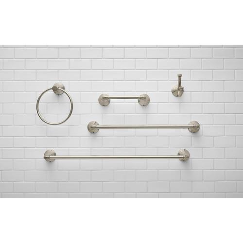 American Standard - Delancey Towel Ring  American Standard - Brushed Nickel