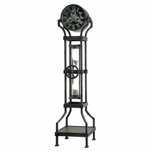 Howard Miller Hourglass III Metal Grandfather Clock 615116