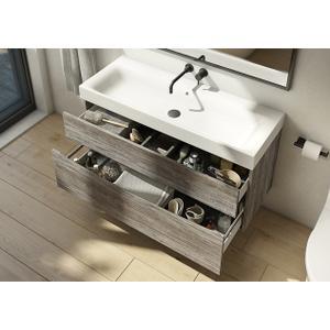 "MPRO 48"" Basin - 1 faucet hole"