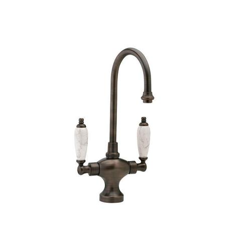 Kitchen & Bar Single Hole Bar Faucet K8158B - Satin Nickel