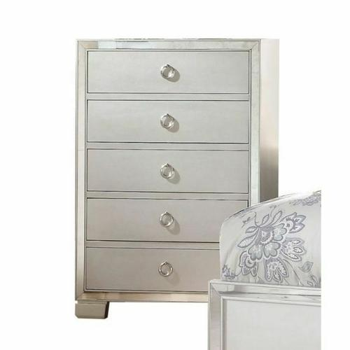 ACME Voeville II Chest - 24846 - Platinum