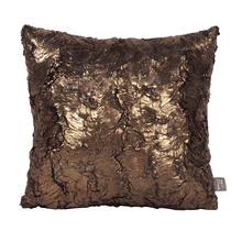 "Pillow Cover 16""x16"" Gold Cougar"