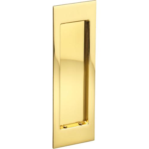 Product Image - Modern Rectangular Flush Cup in (US3 Polished Brass, Lacquered)